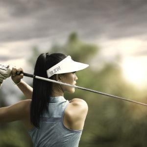 Michelle Wie golf swing